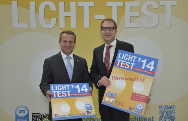 Autofahrer ausgepasst: Licht-Test 2014 gestartet