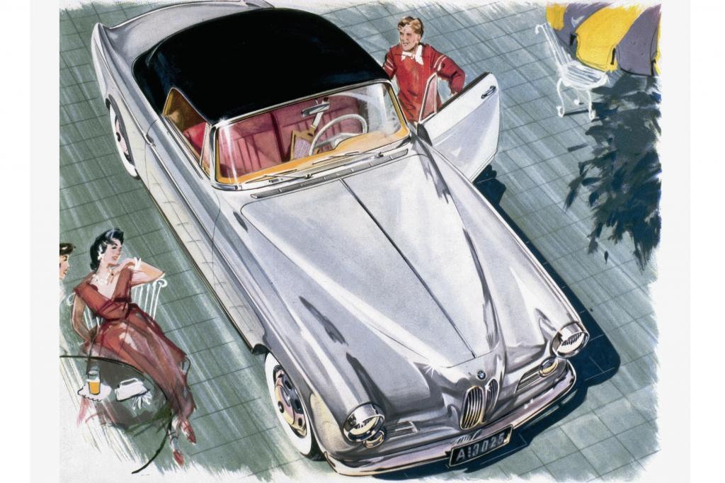BMW 503 V8 Cabriolet ab 1956
