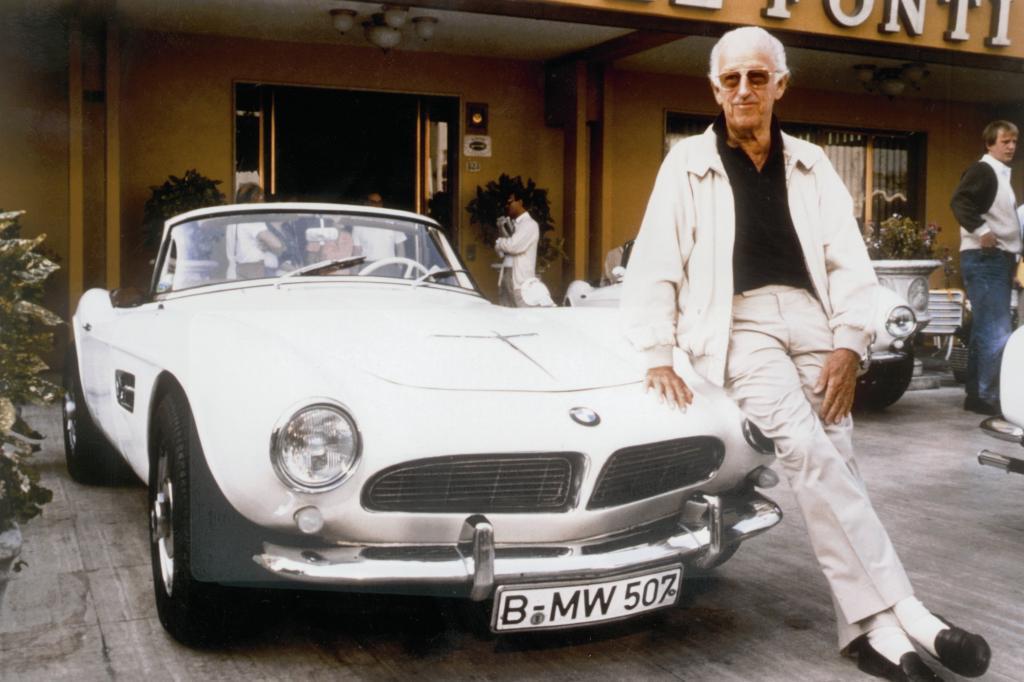 BMW 507 V8 mit Designer Albrecht Graf Goertz