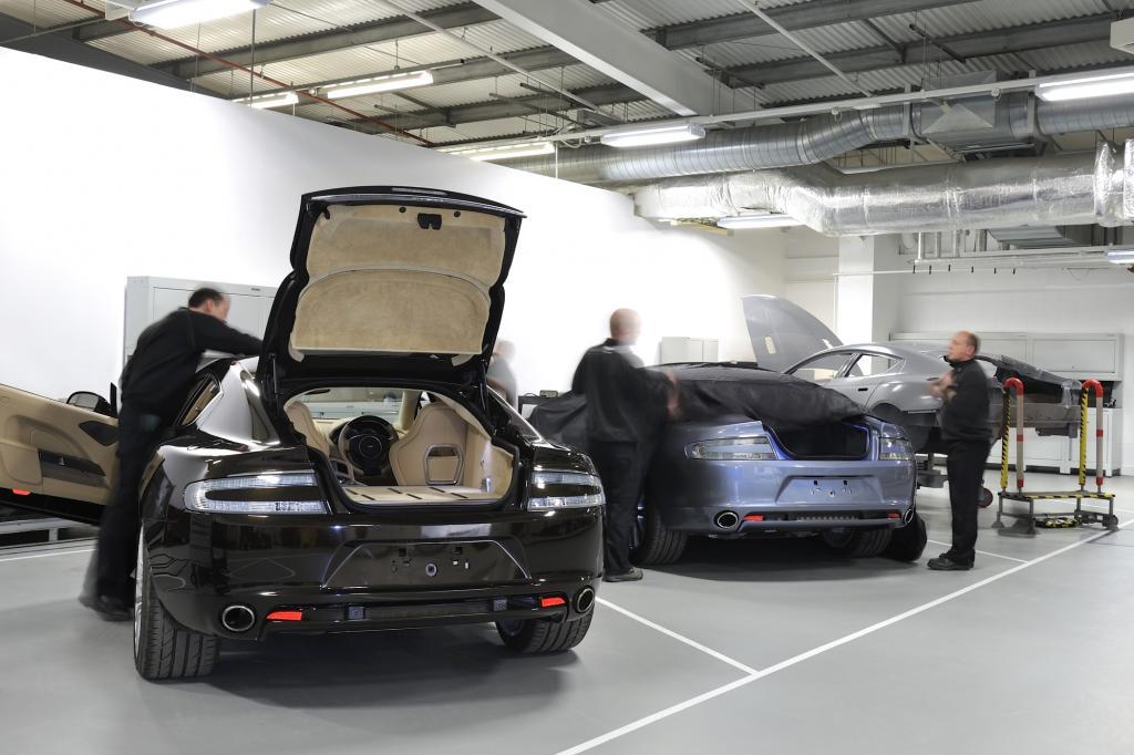 Binnen sechs Monaten haben Aston-Martin-Designchef Marek Reichmann und sein Team den Prototypen kreiert.