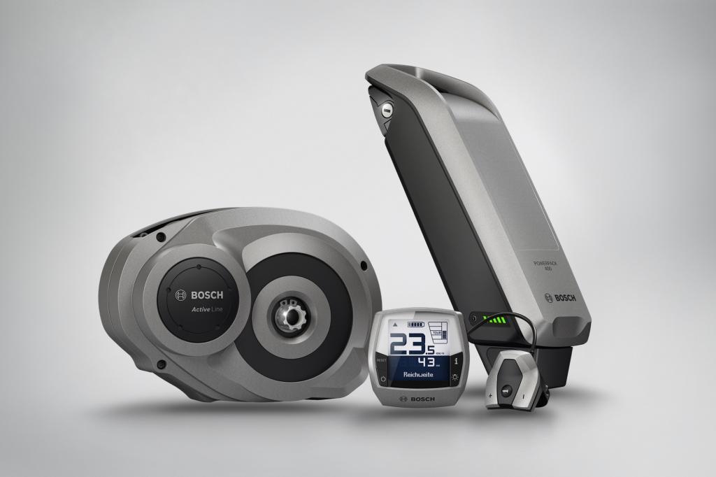 Bosch hat einen neuen Motor für E-Bikes entwickelt