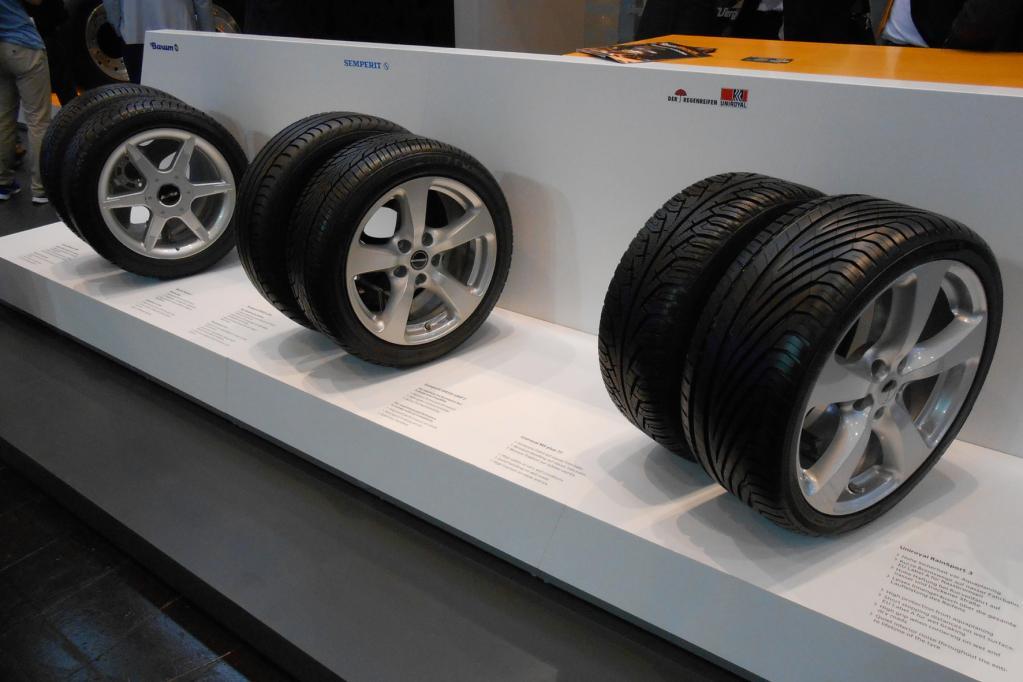 Breite Reifenauswahl für Autofahrer