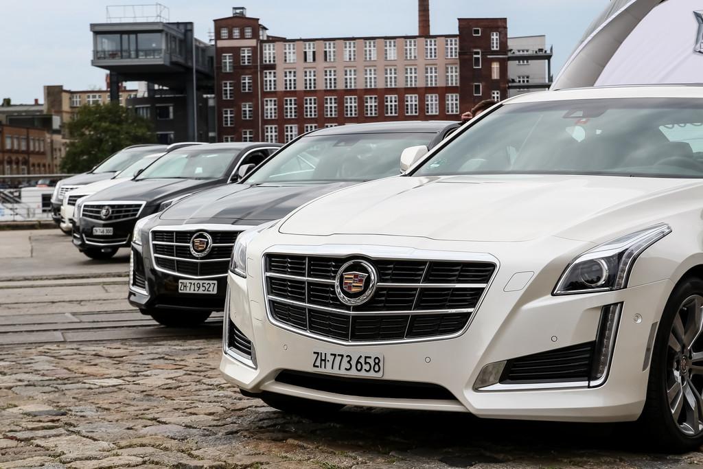 Cadillac reist durch die Lande