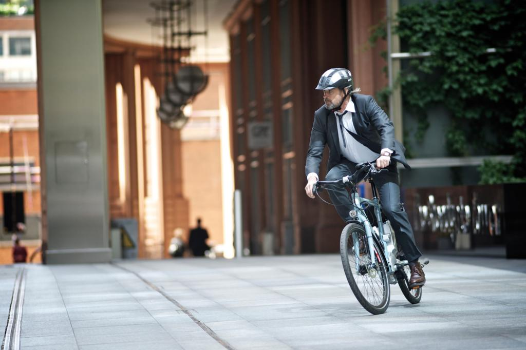 Dank der fortgeschrittenen Technik ist auch sportliches Fahren für ältere Radamateure problemlos möglich.