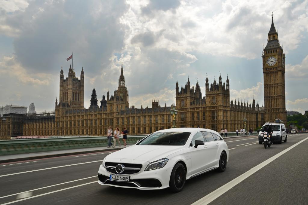 Das viertürige Coupé und sein kombiartiger Ableger sind seit Jahren die  mutigsten Design-Bekenntnisse von Mercedes.