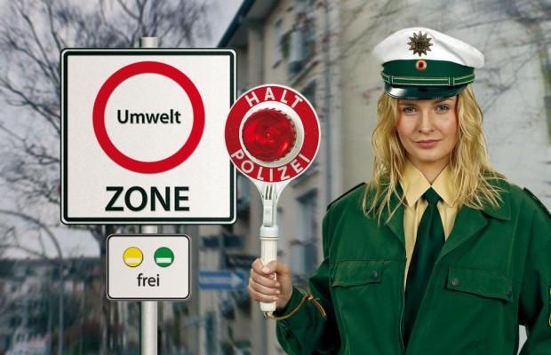 Daumen hoch für Grüne Plakette