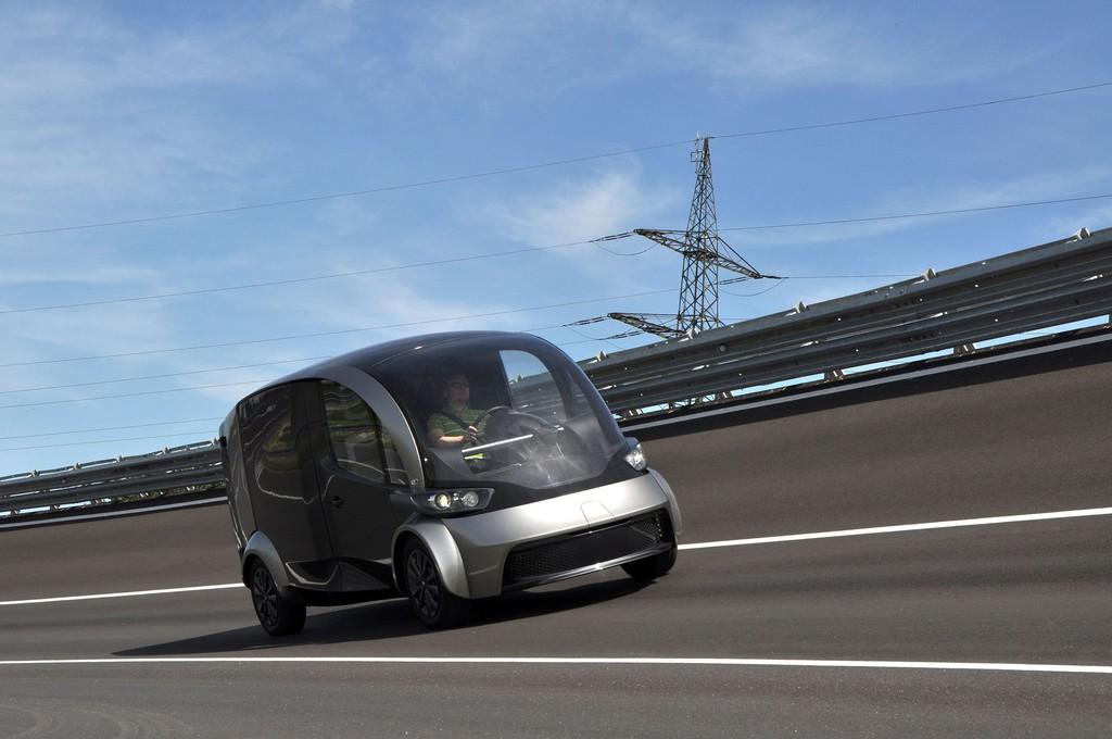 Deliver stellt Elektrolieferwagen der Zukunft vor