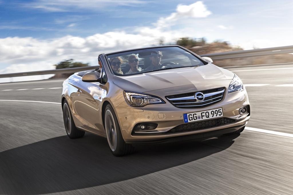 Der Opel Cascada ist ein schön gezeichnetes, viersitziges Cabriolet