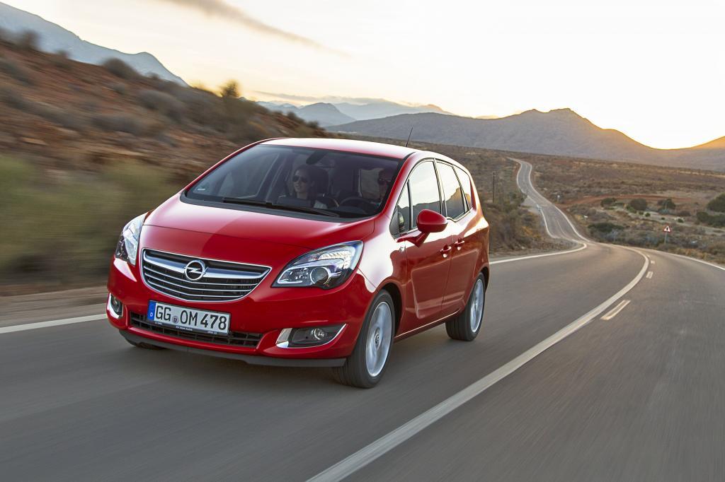 Der Opel Meriva ist seit 2010 in der zweiten Generation erhältlich