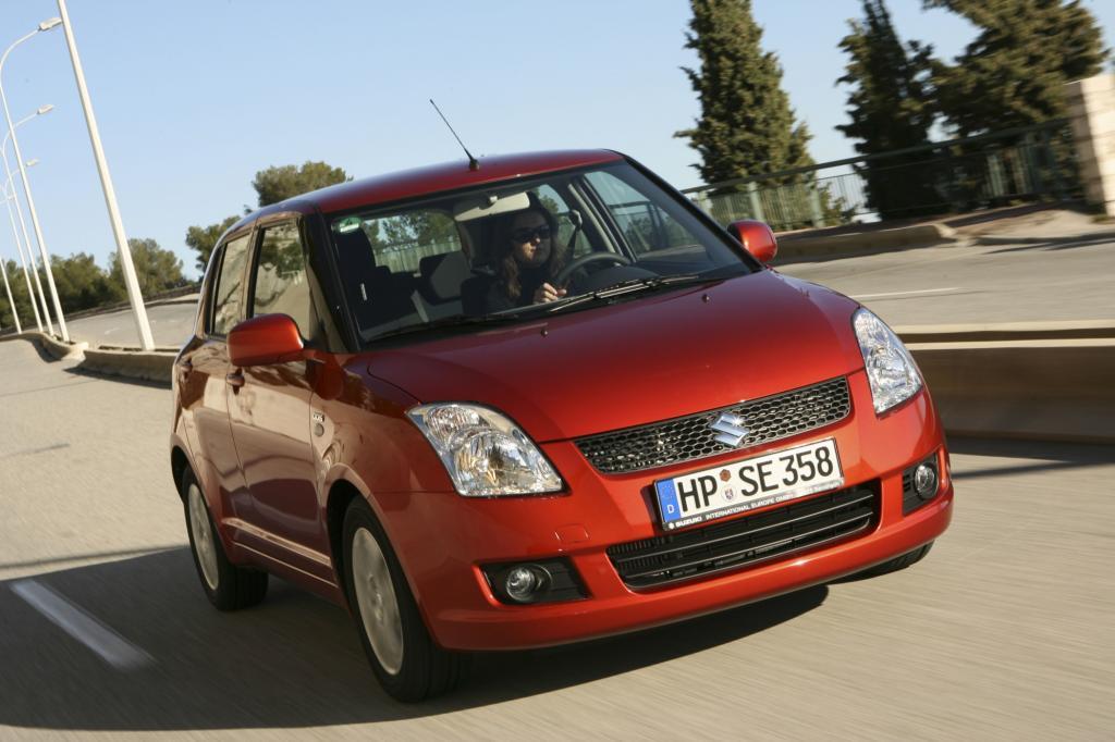 Der Suzuki Swift ist bekannt für seine quirligen Fahreigenschaften