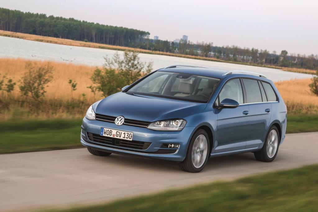 Der VW Golf Variant könnte sich die Krone als sozusagen durchschnittlichstes deutsches Auto aufsetzen