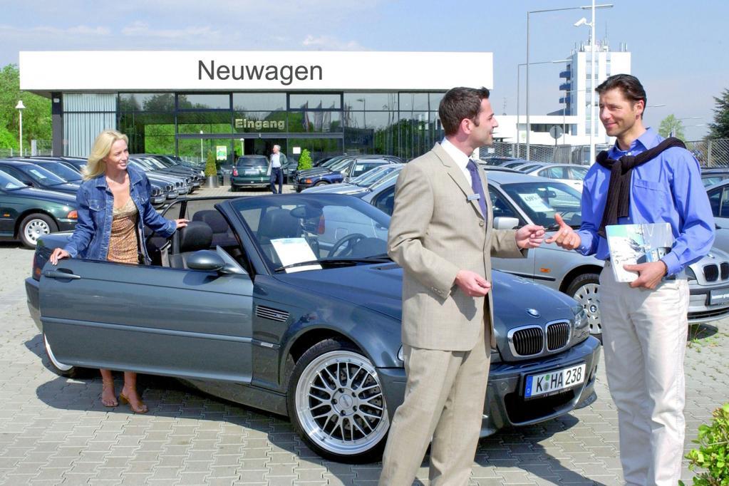 Deutsche Autos immer älter