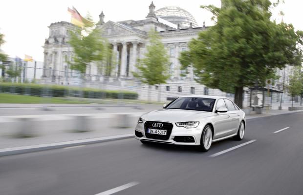 Deutscher Bundestag fährt Audi A6 Ultra
