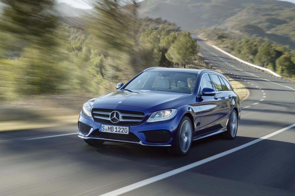 Die Neuauflage des C-Klasse-Kombis von Mercedes feiert auf der AMI Premiere