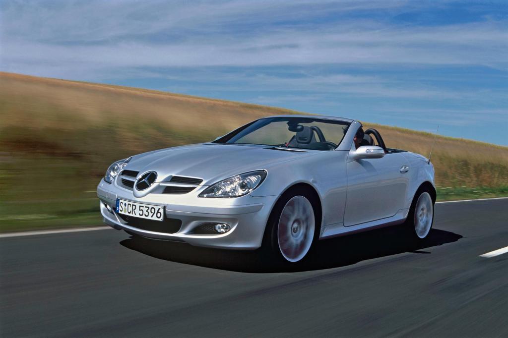 Die zweite Generation des Mercedes SLK ist durch und durch solide