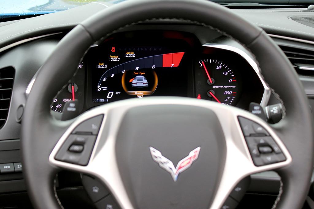 Erste Fahrt im Chevrolet Corvette Stingray Convertible