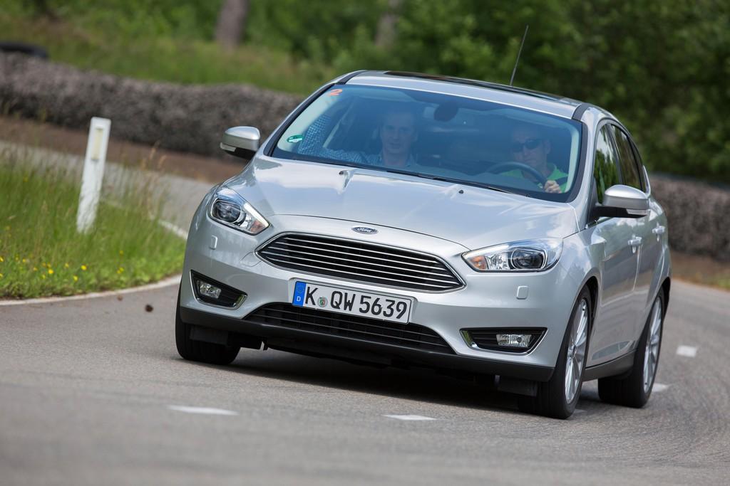 Erste Fahrt im Ford Focus Facelift -  Straffer unterwegs
