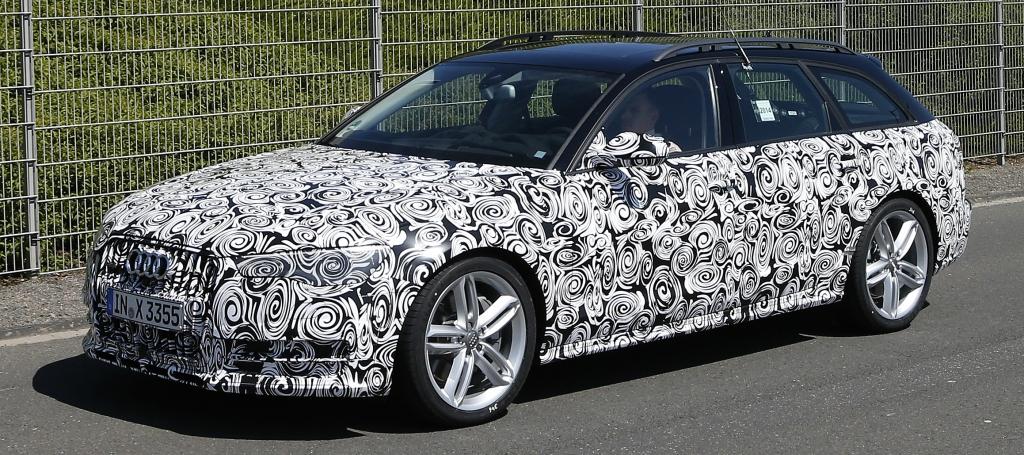 Erwischt: Erlkönig Audi A6 Allroad Facelift (2015)