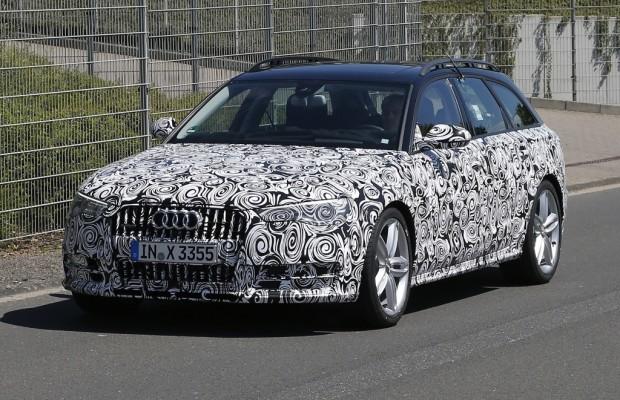 Erwischt: Erlkönig Audi A6 Allroad Facelift