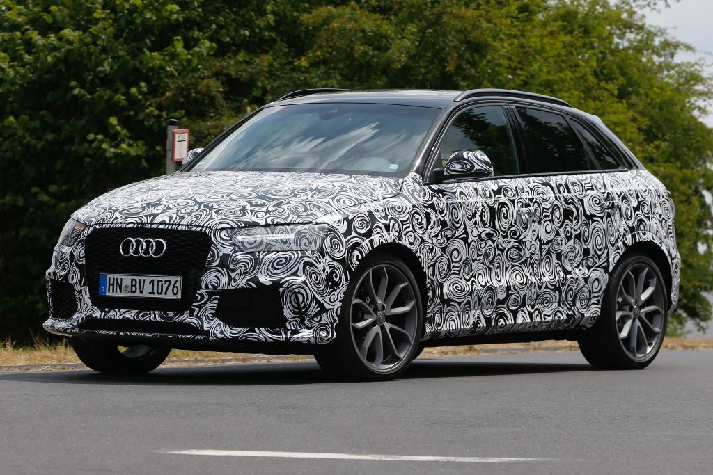 Erwischt: Erlkönig Audi RS Q3 Facelift