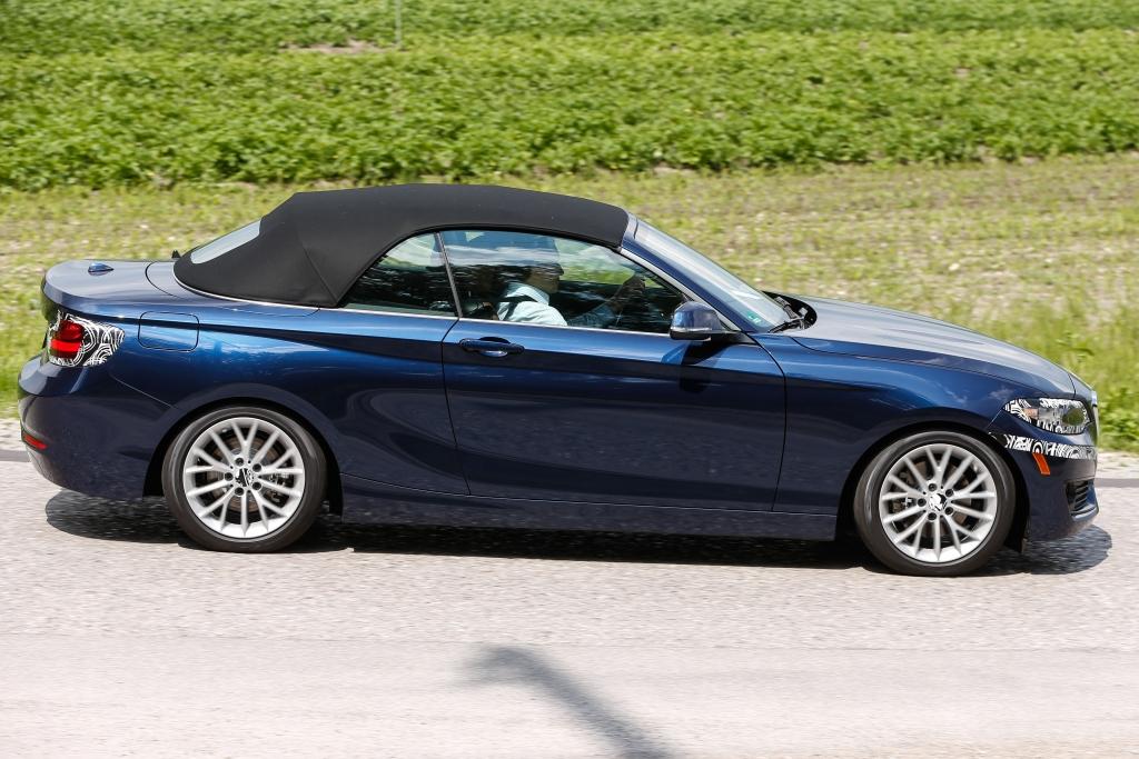 Erwischt: Erlkönig BMW 2er Cabrio in voller Pracht