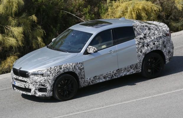 Erwischt: Erlkönig BMW X6 Facelift