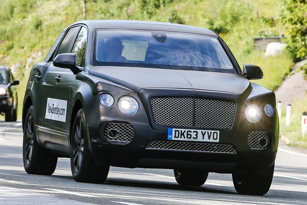 Erwischt: Erlkönig Bentley SUV