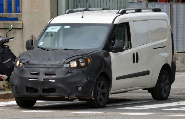 Erwischt: Erlkönig Fiat Doblo Facelift
