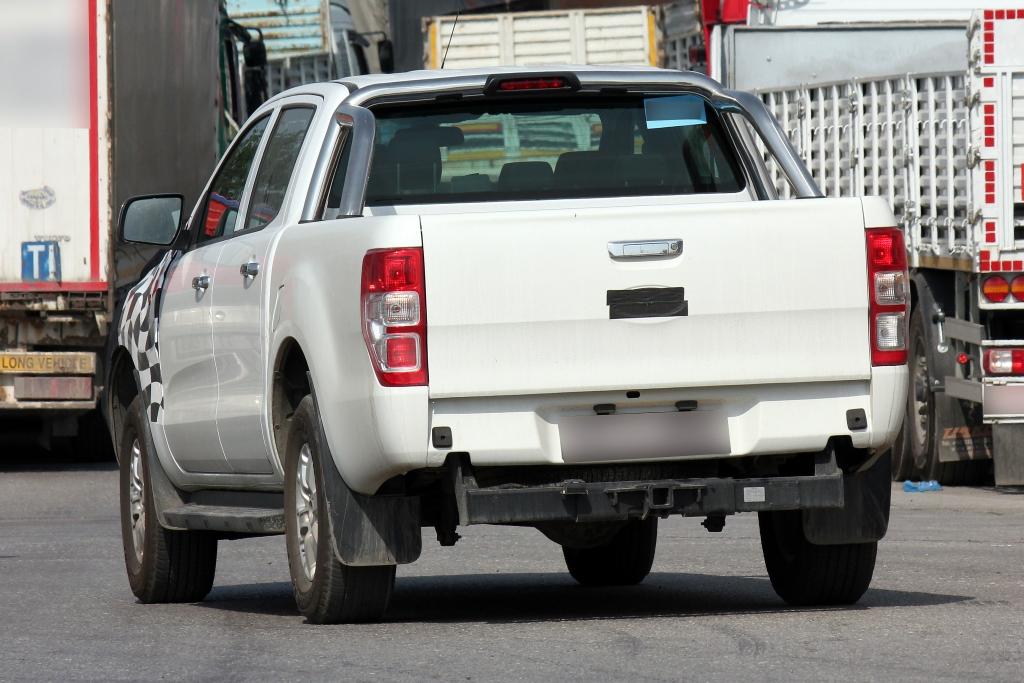 Erwischt: Erlkönig Ford Ranger Facelift