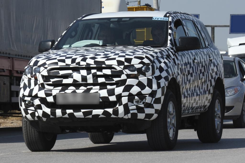 Erwischt: Erlkönig Ford Ranger SUV (2014)
