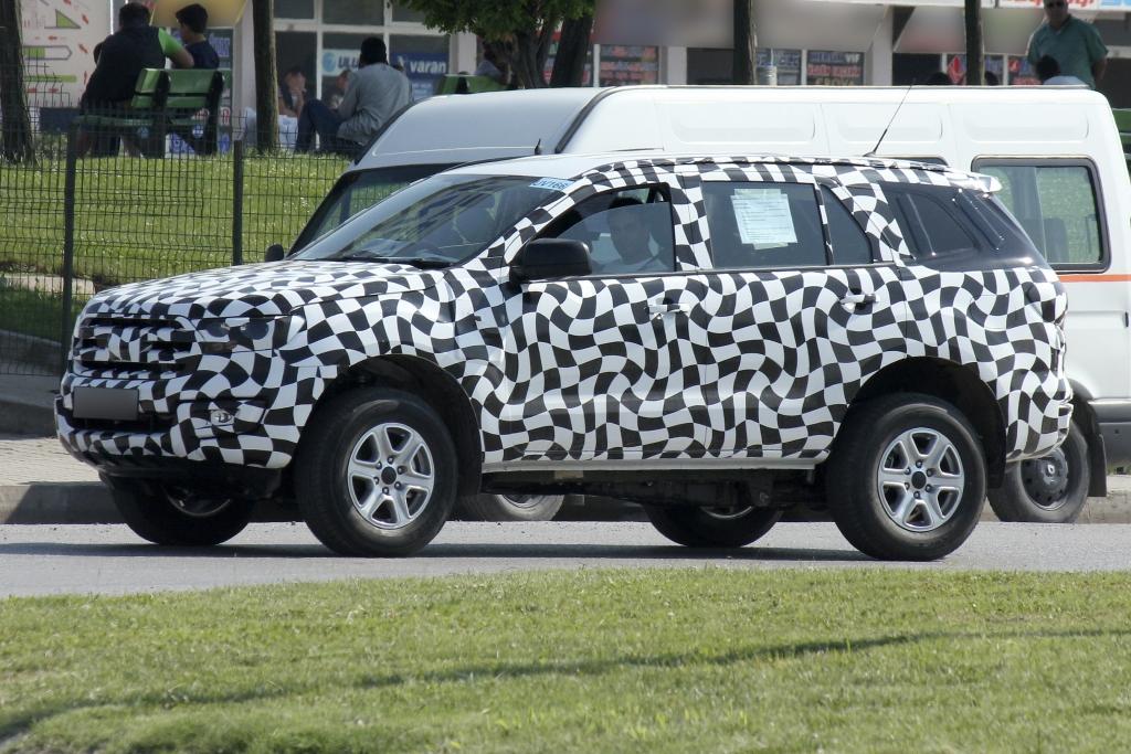 Erwischt: Erlkönig Ford Ranger SUV