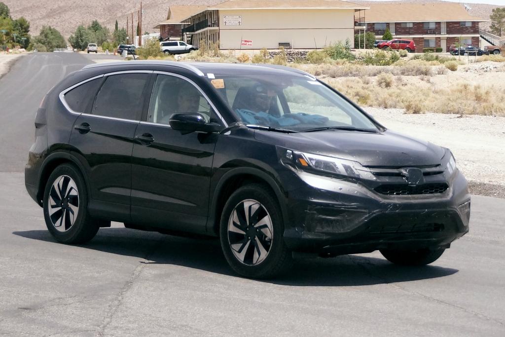 Erwischt: Erlkönig Honda CR-V Facelift für 2015