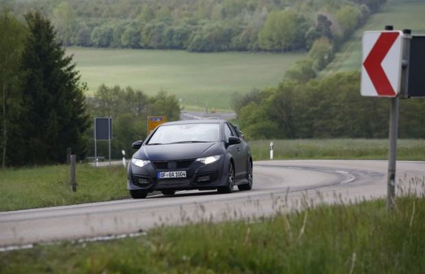 Erwischt: Erlkönig Honda Civic Type R