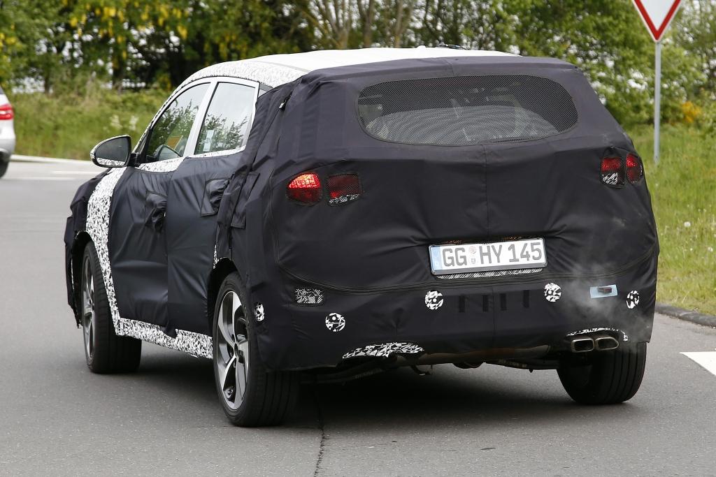 Erwischt: Erlkönig Hyundai iX35 (Modelljahr 2016)