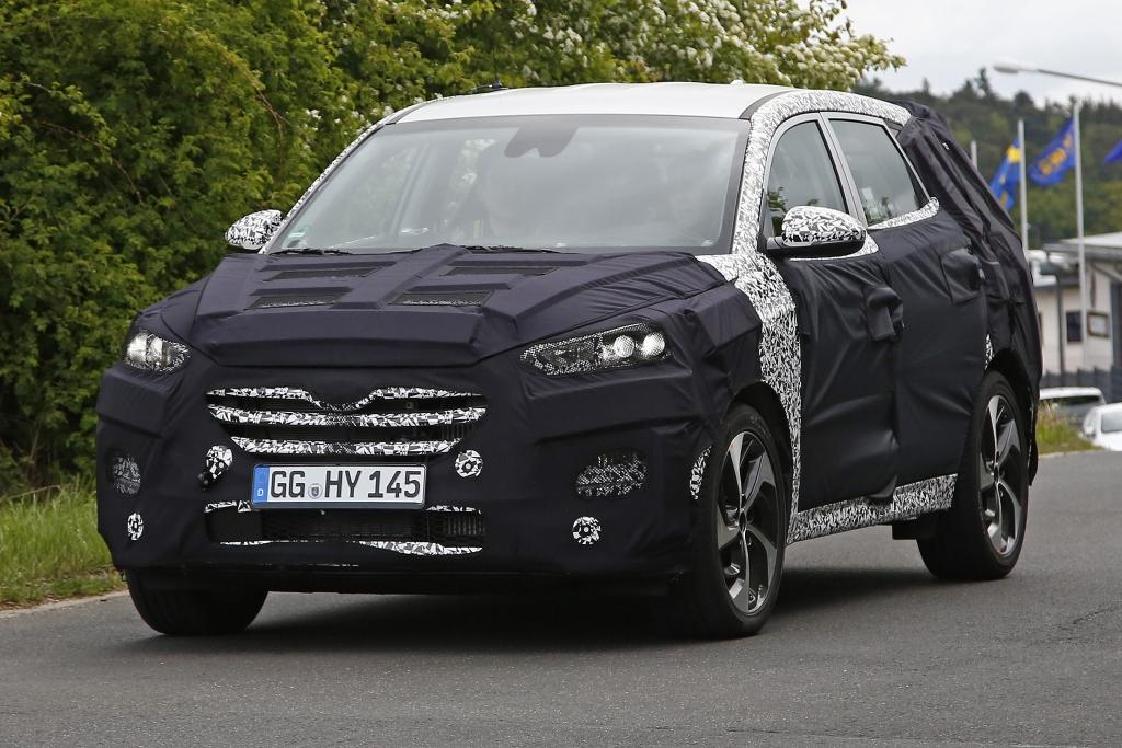Erwischt: Erlkönig Hyundai iX35