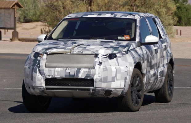 Erwischt: Erlkönig Land Rover Discovery Sport - Auf US-Tour