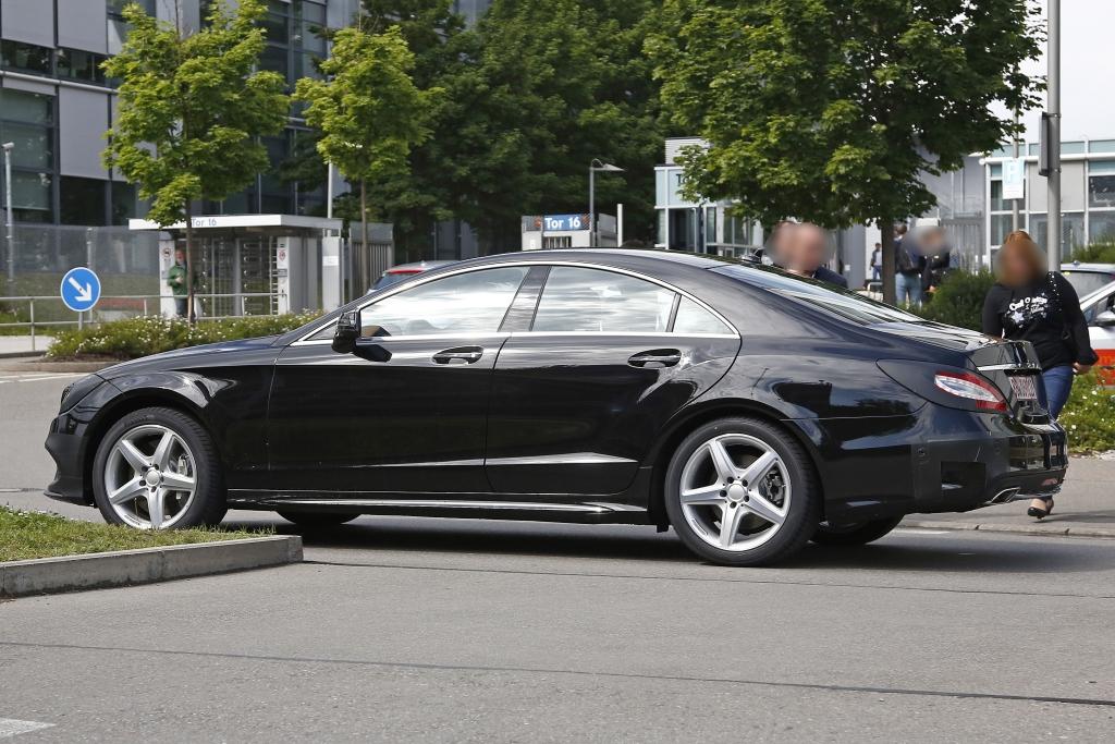 Erwischt: Erlkönig Mercedes CLS Facelift - Mehr S(-Klasse) im CLS