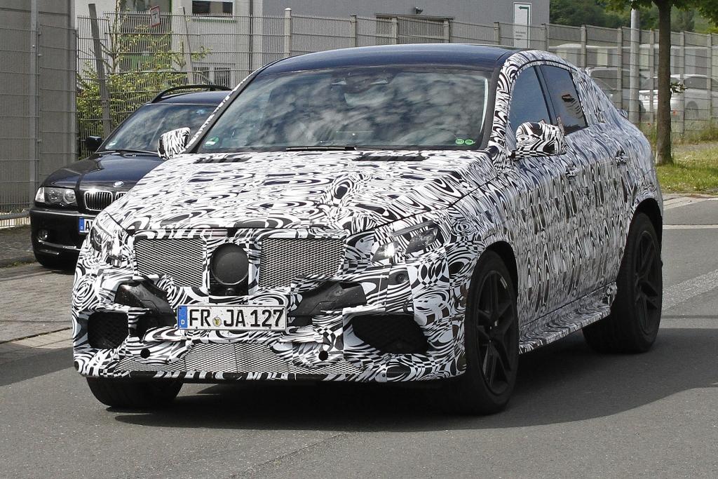 Erwischt: Erlkönig Mercedes MLC 63 AMG