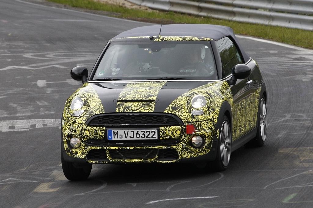 Erwischt: Erlkönig Mini Cooper S Cabrio