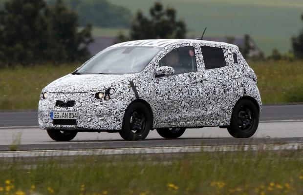 Erwischt: Erlkönig Opel Agila