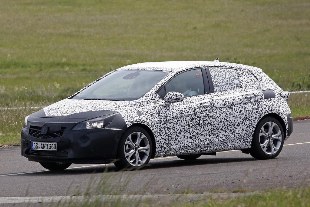 Erwischt: Erlkönig Opel Astra K - Neuer Angriff auf die Kompaktkrone