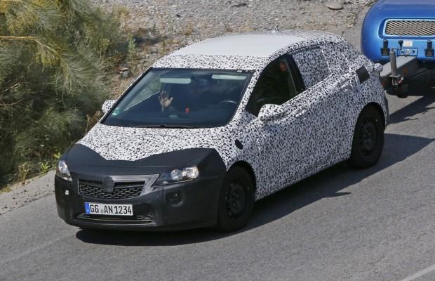 Erwischt: Erlkönig Opel Astra in den Alpen gesichtet