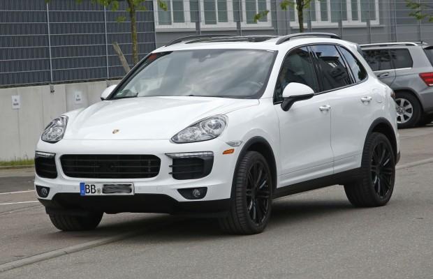 Erwischt: Erlkönig Porsche Cayenne Facelift