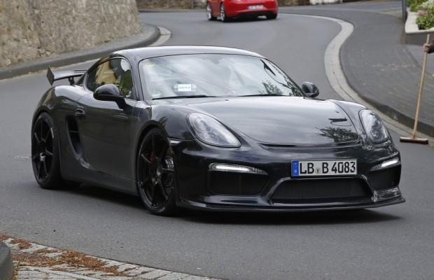 Erwischt: Erlkönig Porsche Cayman GT4 - Mit vier Zylindern den 911er abhängen?