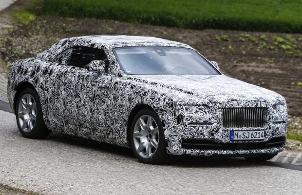 Erwischt: Erlkönig Rolls Royce Wraith Drophead Coupé