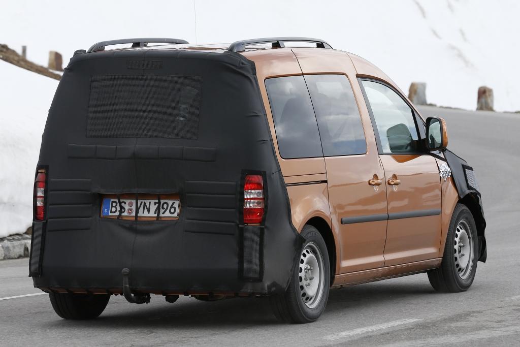 Erwischt: Erlkönig VW Caddy Facelift