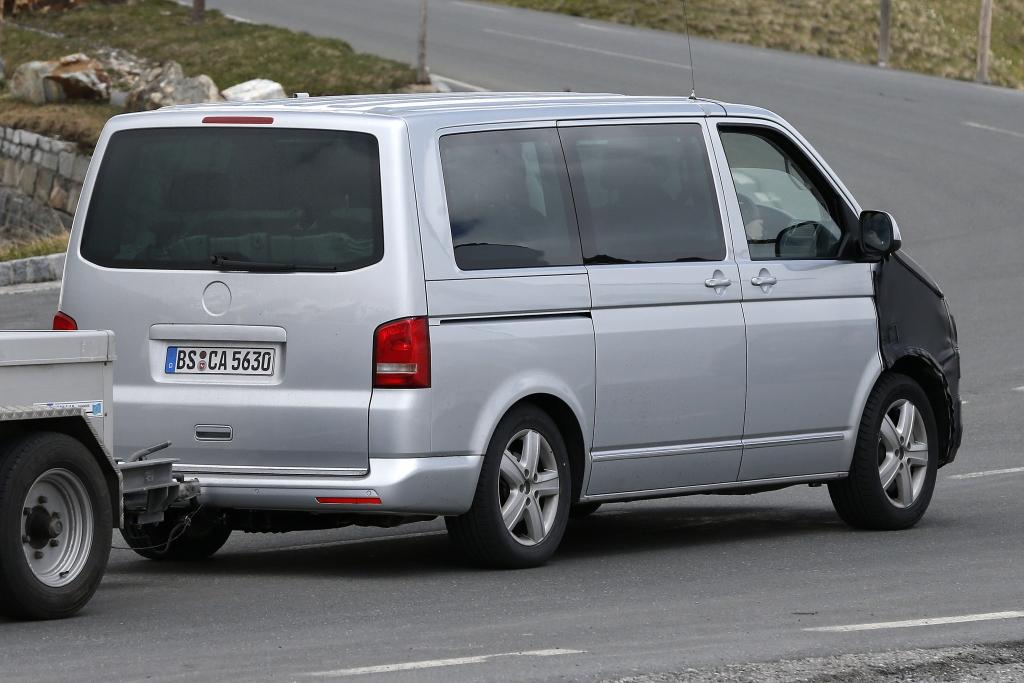 Erwischt: Erlkönig VW T6?