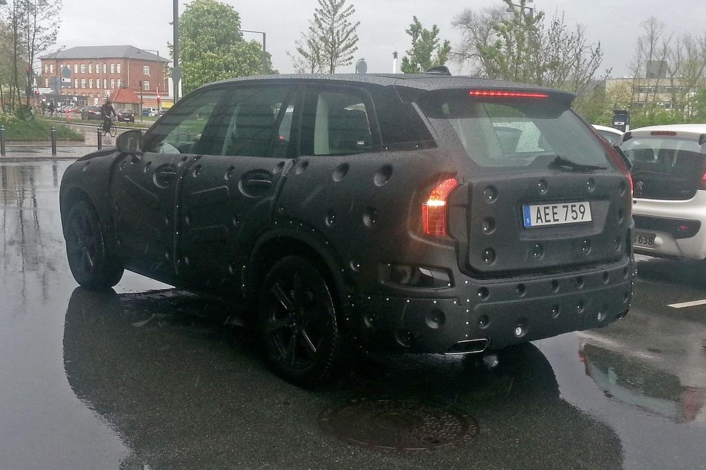 Erwischt: Erlkönig Volvo XC90 (2015) in Koppenhagen gesichtet