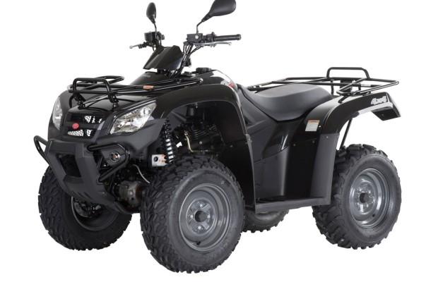 Für Einsteiger: Kymco MXU 400 4x4