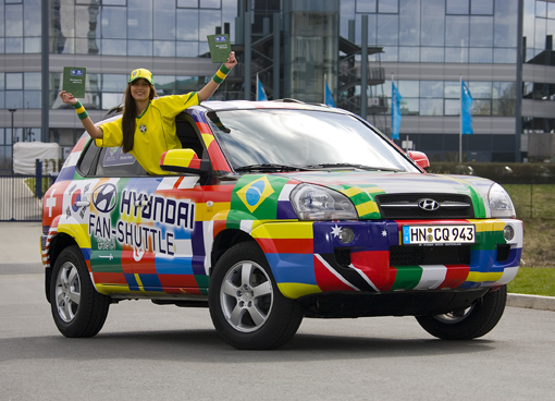 FIFA Hyundai Fan-Shuttle bei der Fußball-WM 2006 in Deuschland